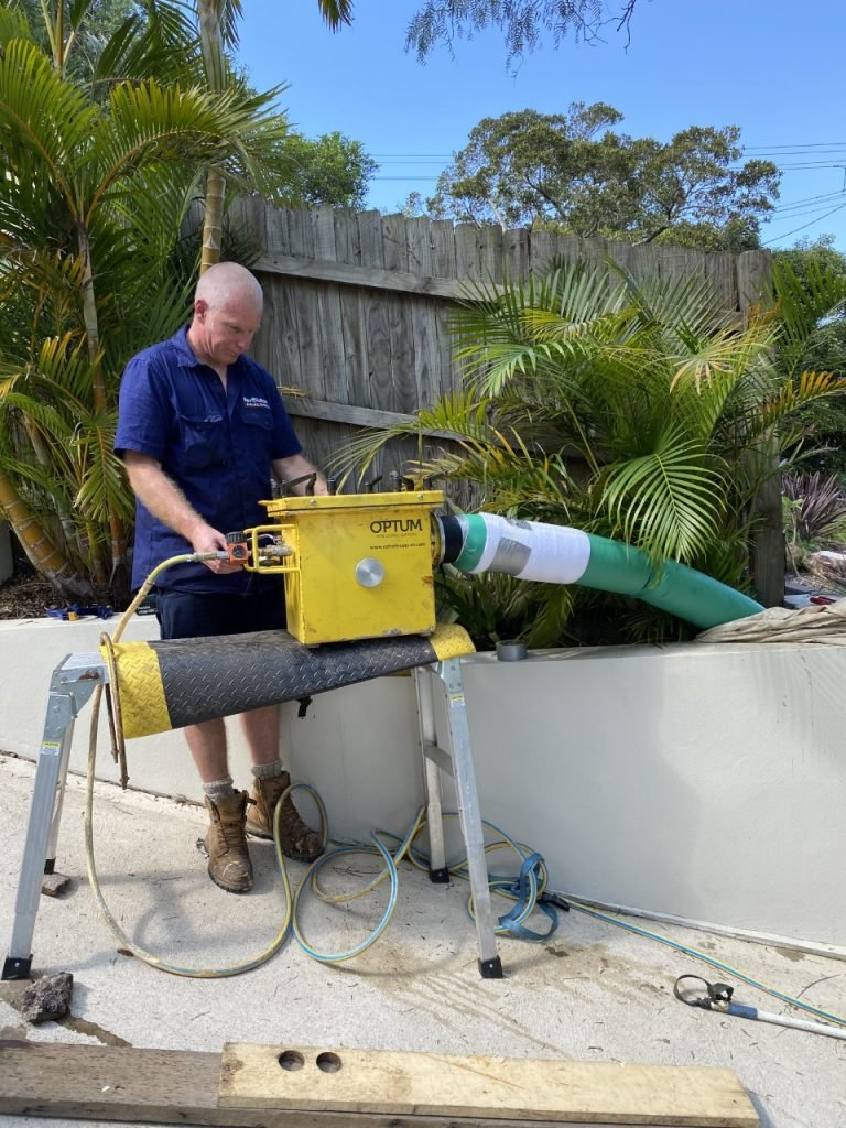 Pipe relining 150mm sewer line by Revolutionpiperelining.com.au