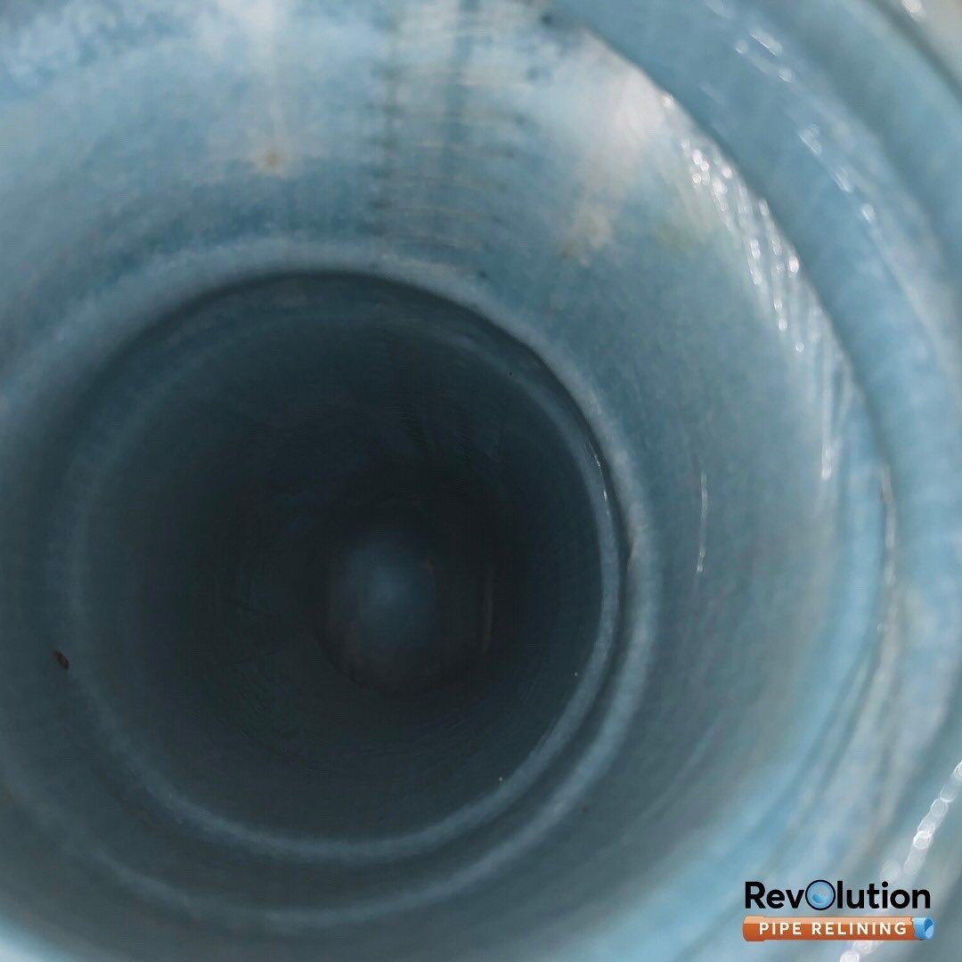 Relined sewer pipe by Revolutionpiperelining.com.au