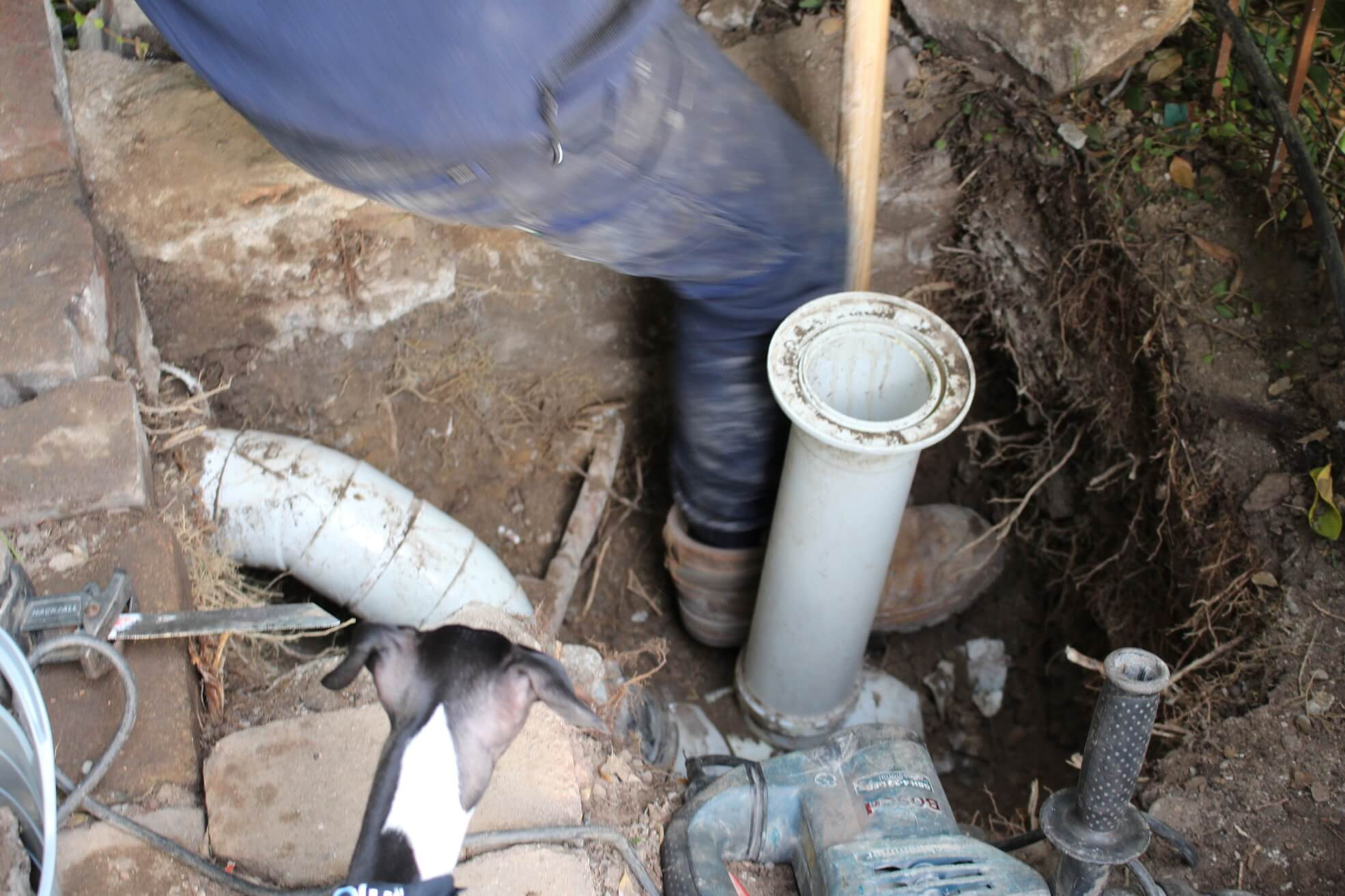 Pipe replacement image by Revolution Pipe Relining
